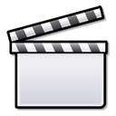 movie, film, Konqsidebar, media player, media, Clapboard, video Icon