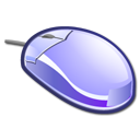 Mouse LightSteelBlue icon