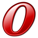 Opera, Browser Black icon