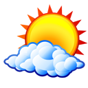 sun, weather, Cloud, Kweather, climate Black icon