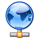 network LightSkyBlue icon