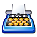 pack, word processing, package Black icon