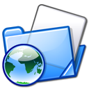Blue, html, Folder LightSkyBlue icon