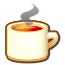 Kteatime, cup, food, hot, Coffee, tea Black icon