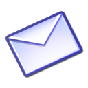 mail, envelop, Letter, Email, Message, envelope Lavender icon