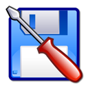 Kfloppy CornflowerBlue icon