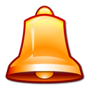 Alarm, bell Black icon