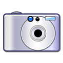 Camera, photography, unmount Silver icon