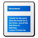 document, paper, File DodgerBlue icon