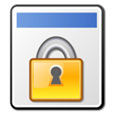 converted, security, File, paper, document, locked, Lock WhiteSmoke icon