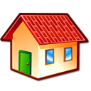 homepage, Home, kfm, Building, house Black icon
