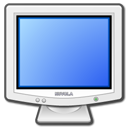 Display, Computer, monitor, screen CornflowerBlue icon