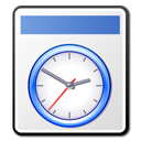 Clock, temporary, paper, alarm clock, history, document, File, time, Alarm WhiteSmoke icon