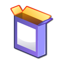 Kpackage, Box, package, pack MediumPurple icon