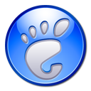 Gnome, App CornflowerBlue icon