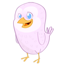 Animal, social network, twitter, Social, Sn, bird, Nola LavenderBlush icon