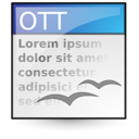 template, document, Text, File, Application, Oasis, open document WhiteSmoke icon