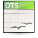template, Oasis, Spreadsheet, Application, open document Linen icon