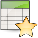 stock, new, Spreadsheet Linen icon