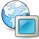 network, Gnome Black icon