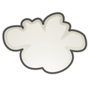 climate, stock, weather, Cloud, Cloudy Black icon