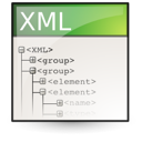 Application, xml Linen icon