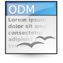 open document, File, Application, document, Text, master, Oasis WhiteSmoke icon
