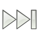 gtk, yes, ok, next, media, Forward, ltr, correct, right, Arrow Black icon
