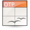 Application, Oasis, Presentation, template, open document Linen icon
