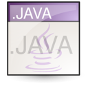 Text, File, Java, document Linen icon