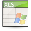 Ms, Excel, Application, Spreadsheet Linen icon