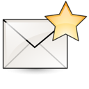 stock, envelop, Email, Letter, Gnome, new, mail, Message Black icon