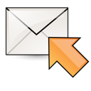 mail, Email, Letter, envelop, Message, Gnome, rpl, stock Black icon