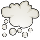 weather, stock, climate, Cloud, Snow Black icon