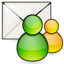 Email, profile, Setting, envelop, Letter, Message, Configure, preference, configuration, Account, mail, config, option Black icon