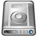 hard disk, drive Gray icon