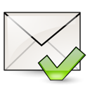 envelop, junk, Letter, mail, mark, Email, Not, Message WhiteSmoke icon