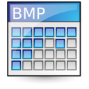 Bmp, photo, picture, pic, image Black icon