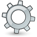 system, Application Black icon
