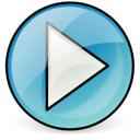 Multimedia, Application SkyBlue icon