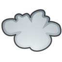 climate, stock, Fog, weather Black icon