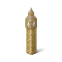 Bigben, great britain, tourism, Big ben Black icon