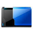 Closed, Folder, Floder Black icon