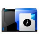 Scheduled, task Black icon