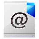 Letter, Message, mail, envelop, Email WhiteSmoke icon