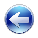 Arrow, Backward, previous, Back, Left, prev SteelBlue icon
