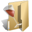 wine, Folder DarkKhaki icon