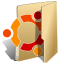Ubuntu, Folder BurlyWood icon