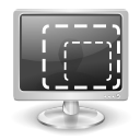 Display, screen, Computer, monitor DarkSlateGray icon