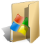 Folder, window BurlyWood icon